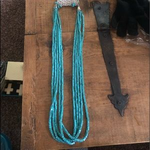 NWT West & Co turquoise necklace